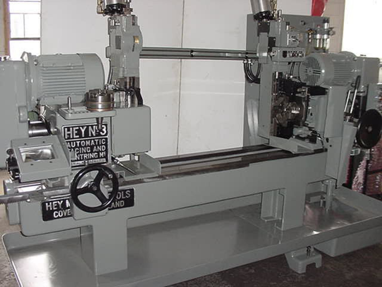 Hey No.3 Facing and Centering Machine