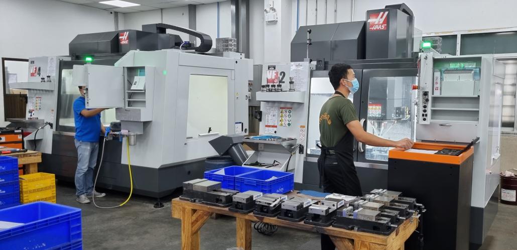 James Precision Haas Machines
